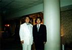 パシフィックアジアカイロプラプラクティック協会 (PAAC)名誉会長 恩師 故桜田喜治先生と。